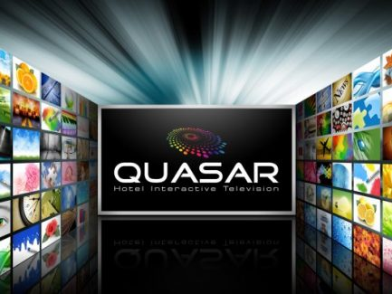QUASAR Flat Screen Television with Images
